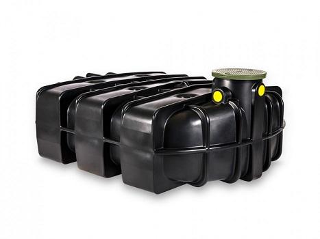 Plastová nízká jímka Speidel 5000 litrů